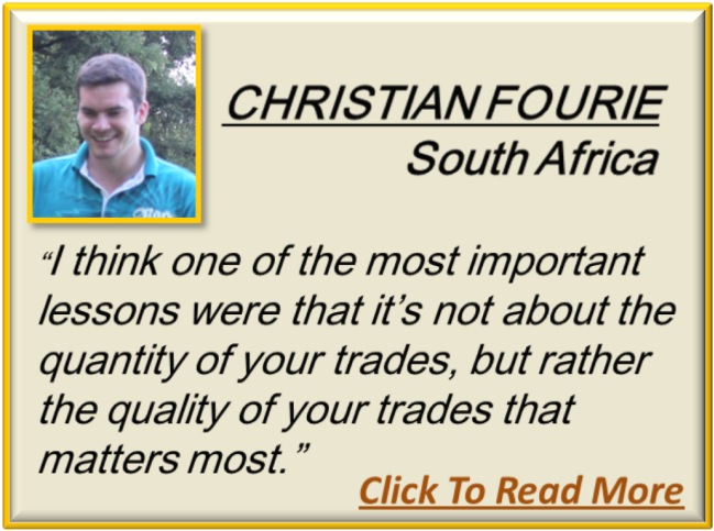 Forex Business University Testimonial Christian