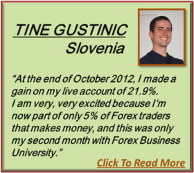 Forex Business University Testimonial Tine